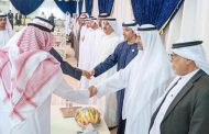حاكما الفجيرة وأم القيوين يتقبلان العزاء في وفاة الشيخة نيلا بنت راشد النعيمي