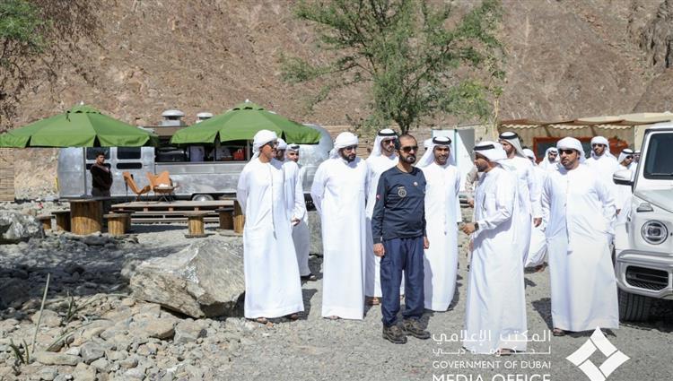 محمد بن راشد يأمر بتسريع وتيرة استكمال المشاريع التطويرية في مدينة حتا
