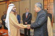 محمد بن راشد يستقبل رئيس وزراء ولاية كيرلا الهندية