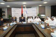 غرفة الفجيرة تبحث التعاون بمجال الأمن الغذائي مع كازاخستان