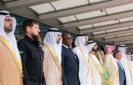 محمد بن راشد ومحمد بن زايد يشهدان افتتاح معرض