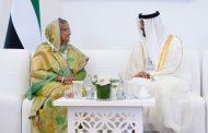 محمد بن زايد يلتقي رئيسة وزراء بنجلاديش وعددا من وزراء الدفاع وكبار المسؤولين المشاركين في