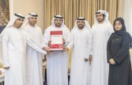 محمد بن حمد الشرقي يستقبل اللجنة المحلية للأولمبياد الخاص في الفجيرة