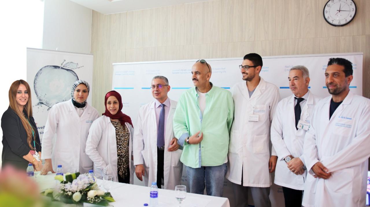 نجاح أول عملية استئصال مريء في مستشفى الإمارات التخصصي