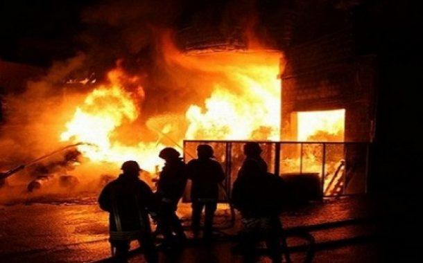 ثمانية قتلى على الأقل في حريق بمنطقة عشوائيات في بنجلادش
