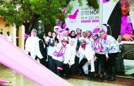 مسيرة القافلة الوردية تنطلق من الشارقة اليوم