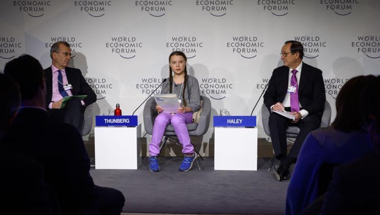 ترشيح طفلة سويدية ناشطة في مجال البيئة لجائزة نوبل للسلام