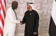 محمد بن زايد يستقبل رئيس ليبيريا ويبحث معه علاقات الصداقة والتعاون بين البلدين