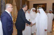 حمد الشرقي يلتقي المشاركين في ملتقى الفجيرة الدولي السابع للتعدين