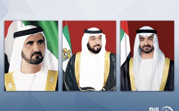 رئيس الدولة ونائبه ومحمد بن زايد يعزون الرئيس العراقي بضحايا حادث غرق العبارة