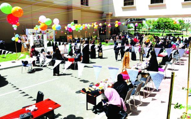 طلبة جامعة أبوظبي يحتفون بالمناسبة بباقة من الفعاليات