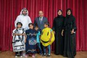 راشد الشرقي يشهد إختتام فعاليات مهرجان الفجيرة للمسرح المدرسي