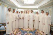 راشد الشرقي يستقبل رئيس وأعضاء جمعية دبا للثقافة والفنون والمسرح