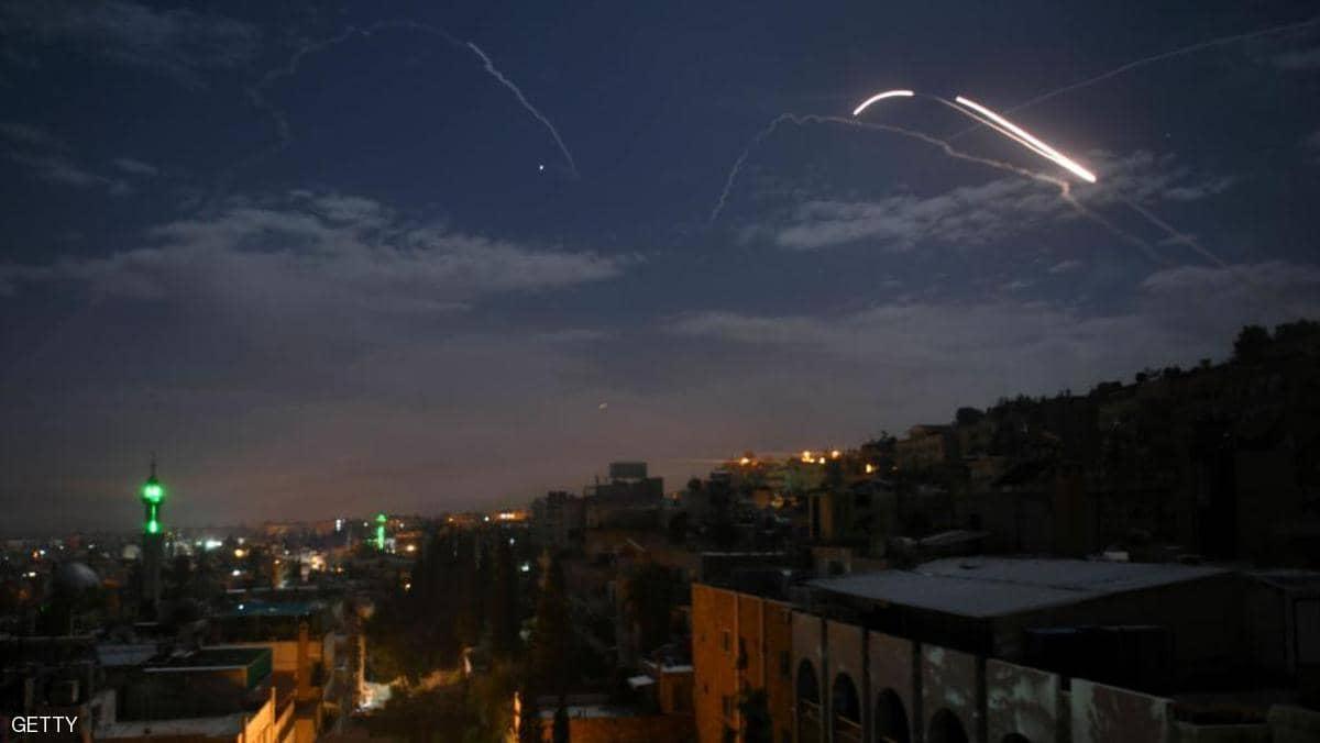 إسرائيل تنشر صورا فضائية لضرب