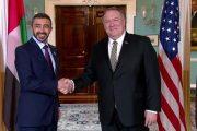 عبدالله بن زايد يلتقي مسؤولين أميركيين رفيعين في واشنطن