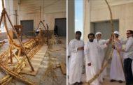 قارب من العصر البرونزي.. على ساحل أبوظبي