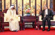 محمد بن راشد يبحث مع نائب الرئيس الصيني رفع مستوى الشراكة بين البلدين