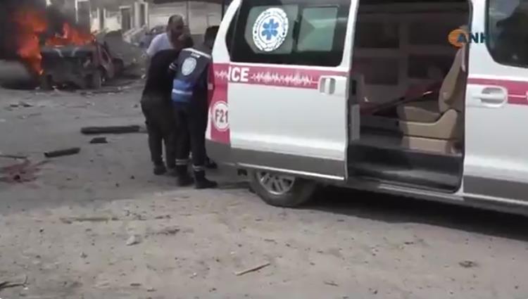 13 قتيلاً بتفجيرين أحدهما سيارة ملغومة في الرقة السورية
