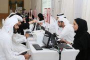 319 مواطنا ومواطنة يترشحون ويتلقون عروض عمل لدى 33 شركة
