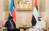 محمد بن زايد ورئيس جنوب السودان يبحثان علاقات البلدين