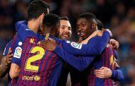 برشلونة يقطع خطوة جديدة نحو الاحتفاظ بلقب