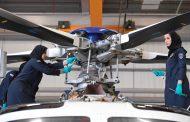 9 مواطنات يثبتن كفاءة في إصلاح الطائرات
