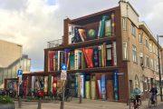 جدارية مكتبة تشعل النقاش في حي هولندي