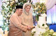 على خطى شقيقه.. ولي عهد ماليزيا يتزوج من أجنبية