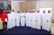 محمد بن حمد الشرقي يكرم فريقي الفجيرة للتحدي والهايكنج