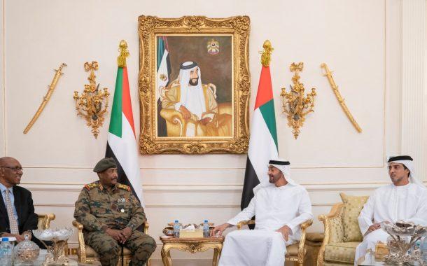 محمد بن زايد يؤكد دعم الإمارات للسودان في كل ما يحفظ أمنها واستقرارها