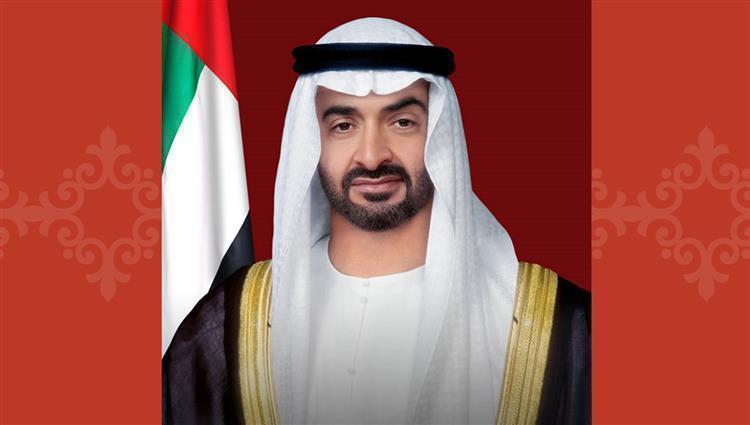 محمد بن زايد يهنئ محمد بن راشد بمناسبة عقد قران أبنائه
