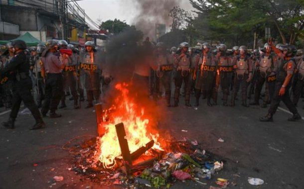 قتلى ومئات الجرحى في اضطرابات بعد نتائج انتخابات إندونيسيا