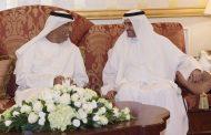 حاكم الفجيرة يستقبل جموع المهنئين بشهر رمضان