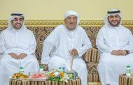 راشد الشرقي يلبي دعوة إفطار المواطن عبد الله بن غانم الحميدي والي منطقة حجر بن حميد