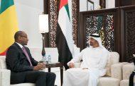 محمد بن زايد يستقبل رئيس وزراء مالي و يبحثان علاقات الصداقة و القضايا ذات الاهتمام المشترك