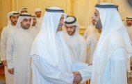 حاكم الفجيرة يستقبل ولي عهد رأس الخيمة و جموع المهنئين بشهر رمضان