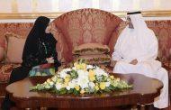 حاكم الفجيرة يستقبل رئيسة وأعضاء المجلس الوطني الإتحادي