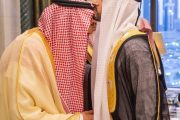 خادم الحرمين الشريفين يستقبل ولي عهد دبي