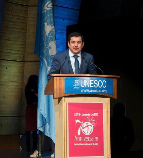 الهيئة الدولية للمسرح تبحث امكانية تنظيم مؤتمرها العام في الامارات