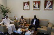 غرفة الفجيرة تبحث العلاقات التجارية والاقتصادية مع غانا