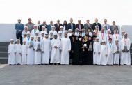 محمد بن زايد يستقبل وفد المدرسة الإماراتية الفائزة بالمركز الثاني عالميا في بطولة الذكاء الاصطناعي