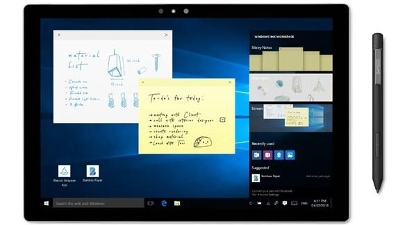أقلام ذكية جديدة لحواسيب ويندوز 10 من