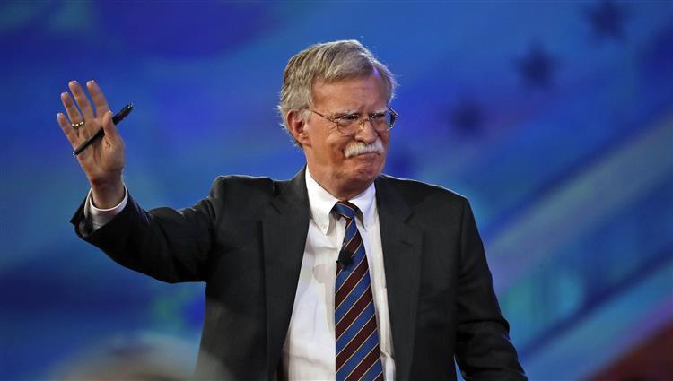 بولتون ينتقد صمت إيران حيال عرض واشنطن إجراء محادثات