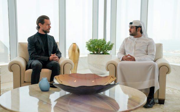 مكتوم بن محمد يستقبل المؤسس والرئيس التنفيذي لـ