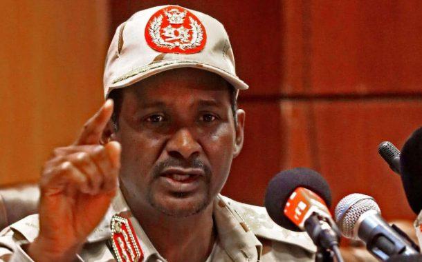 حميدتي يتهم أطرافاً بإشعال الفتنة في السودان