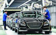 زيادة إنتاج صناعة السيارات في كوريا الجنوبية بنسبة 1.2%