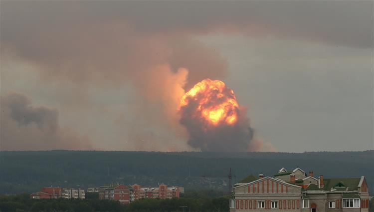 روسيا: مستويات الإشعاع ارتفعت من 4 إلى 16 مرة بعد حادث سيفيرودفينسك