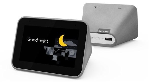 لينوفو تطلق المنبه الذكي Smart Clock الجديد