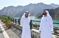 حمدان بن محمد يشيد بمشروع توليد الكهرباء من