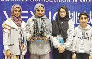 طلاب الإمارات.. صائدو جوائز «الروبوت» العالمية